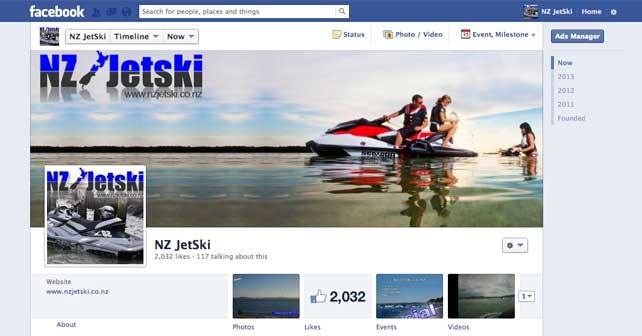 NZJetski on Facebook