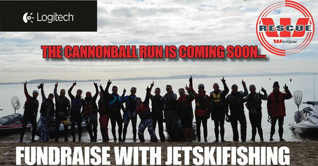 Jetskifishing Cannonball Run
