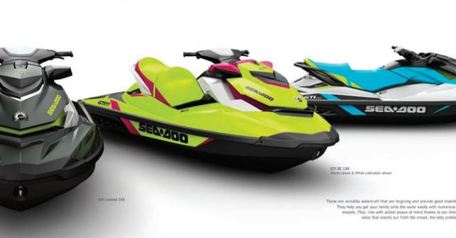 2015 Sea-doo Line up